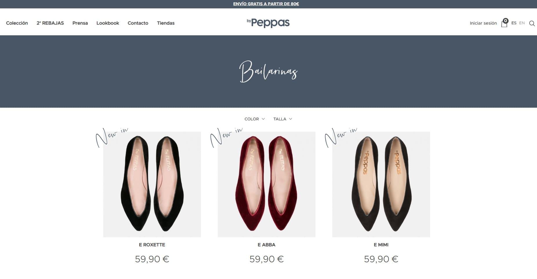 marcas-de-bailarinas-espanolas-byPeppas-tienda